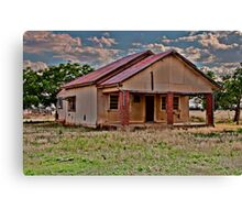 On my Last Legs, the Rural Decay Canvas Print