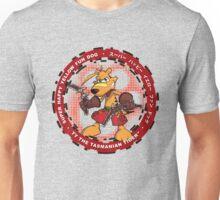Super Happy Yellow Fun Dog Unisex T-Shirt