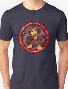 Super Happy Yellow Fun Dog T-Shirt