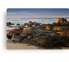Rocks warming Canvas Print