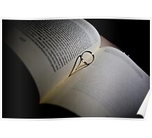 Heart wedding ring Poster