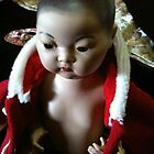 Dalai Lama: porcelain antique reproduction doll:Doll Artisan Guild NY by chrythmnove