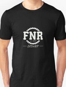 Team FNR Logo White Unisex T-Shirt