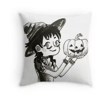 Lydia Deetz Throw Pillow
