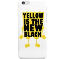 Yellow is the New Black (ver 2) iPhone Case/Skin