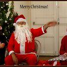 Santa Hits Tilpa... by Anna Ryan