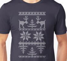 nordic knit pattern Unisex T-Shirt