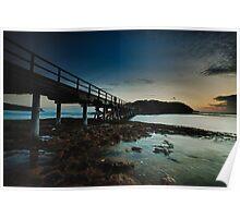East Bare Island Bridge La Perouse Sydney NSW Poster