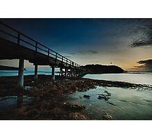 East Bare Island Bridge La Perouse Sydney NSW Photographic Print