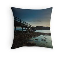 East Bare Island Bridge La Perouse Sydney NSW Throw Pillow