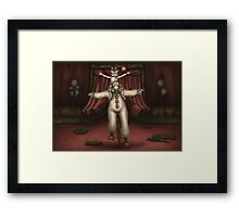 The Audrey and Otis Show Framed Print