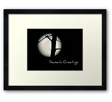 Seasons Greetings - Greeting Card 5 Framed Print