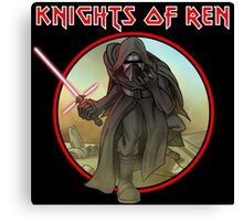 Knights of the force Canvas Print