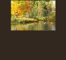 Fall Color Change at George George Park in Michigan Unisex T-Shirt