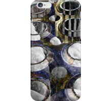 Cold Steel Abstract iPhone Case/Skin