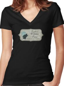 Lupin's Wolfsbane Potion Women's Fitted V-Neck T-Shirt