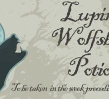 Lupin's Wolfsbane Potion Sticker
