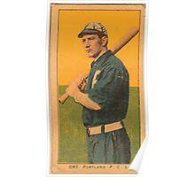 Benjamin K Edwards Collection Ort Portland Team baseball card portrait Poster