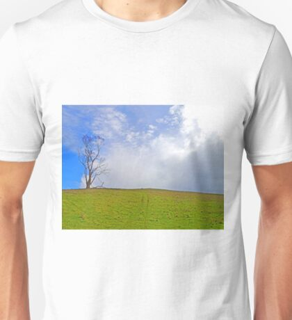 One Tree fronting the Rain Cloud Unisex T-Shirt