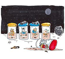 Dead Hamster in a Jar - Star Trek Edition Photographic Print