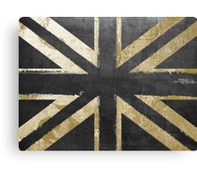 Fashion Flag United Kingdom Canvas Print