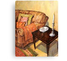 A Corner of my Lounge Canvas Print