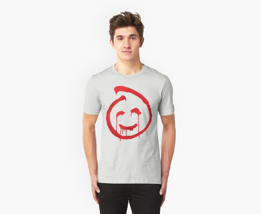 Red John smiley symbol by Robin Lund