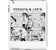 Diego's & Lee's comic strip iPad Case/Skin