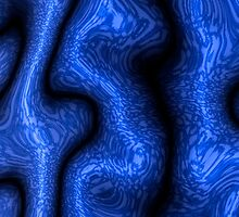 Azure Tapestries 1 by Richard Maier