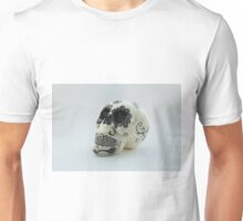 A glamorous painted skull  Unisex T-Shirt