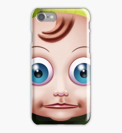 Baby Doll Head... iPhone Case/Skin