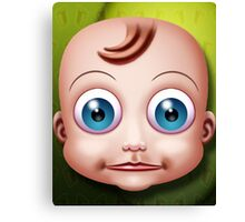 Baby Doll Head... Canvas Print