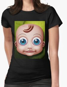 Baby Doll Head... Womens Fitted T-Shirt