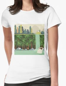Falls Womens Fitted T-Shirt