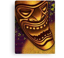 Laughing Tiki Canvas Print