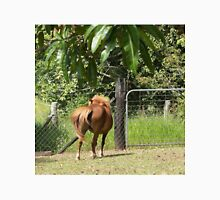 Miniature horse swishes her tail Unisex T-Shirt