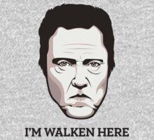"""Christopher Walken - """"Walken Here"""" T-Shirt Baby Tee"""
