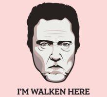 """Christopher Walken - """"Walken Here"""" T-Shirt Kids Tee"""