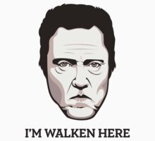"Christopher Walken - ""Walken Here"" T-Shirt One Piece - Short Sleeve"