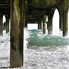 Under the pier  by heather1990