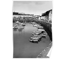 porthleven boats Poster
