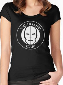 Hellfire Club Women's Fitted Scoop T-Shirt