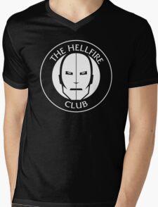 Hellfire Club Mens V-Neck T-Shirt
