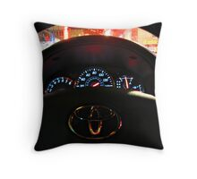 Photo Driving Throw Pillow