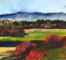 Morning Mist by Liz Thoresen