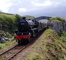 hogwarts express south of Mallaig by georgeporteous