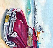 A Day at the Beach - IPhone Case by Rob Beilby