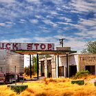 West Texas Truck Stop by Ray Chiarello