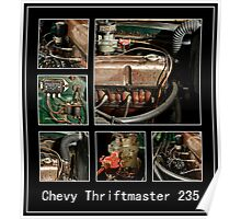 Chevy Thriftmaster Composite Poster