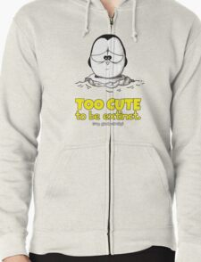 Too Cute To Be Extinct v.1 Zipped Hoodie